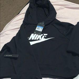 Nike hoodie crop loose fit medium